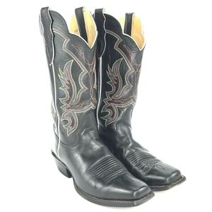 JUSTIN Punchy Womens 8 B Western Boots